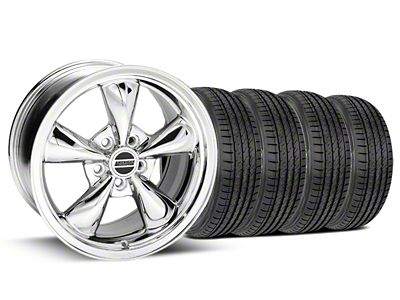 Bullitt Chrome Wheel & Sumitomo Tire Kit - 17x9 (99-04 All)