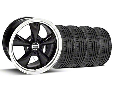Bullitt Black Wheel & Sumitomo Tire Kit - 17x9 (99-04 All)
