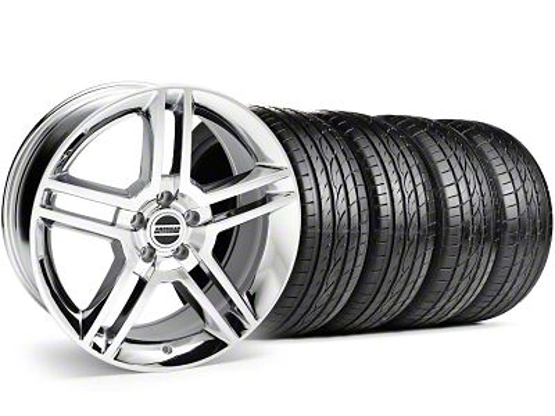 2010 GT500 Style Chrome Wheel & Sumitomo Tire Kit - 19x8.5 (99-04 All)