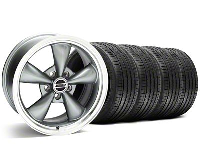 Bullitt Anthracite Wheel & Sumitomo Tire Kit - 20x8.5 (05-10 GT; 05-14 V6)
