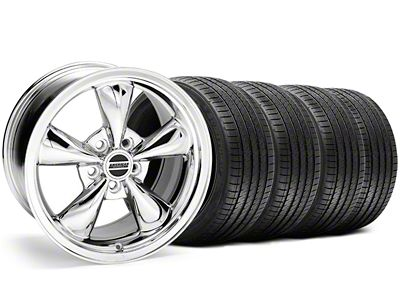 Bullitt Chrome Wheel & Sumitomo Tire Kit - 18x9 (05-10 GT; 05-14 V6)