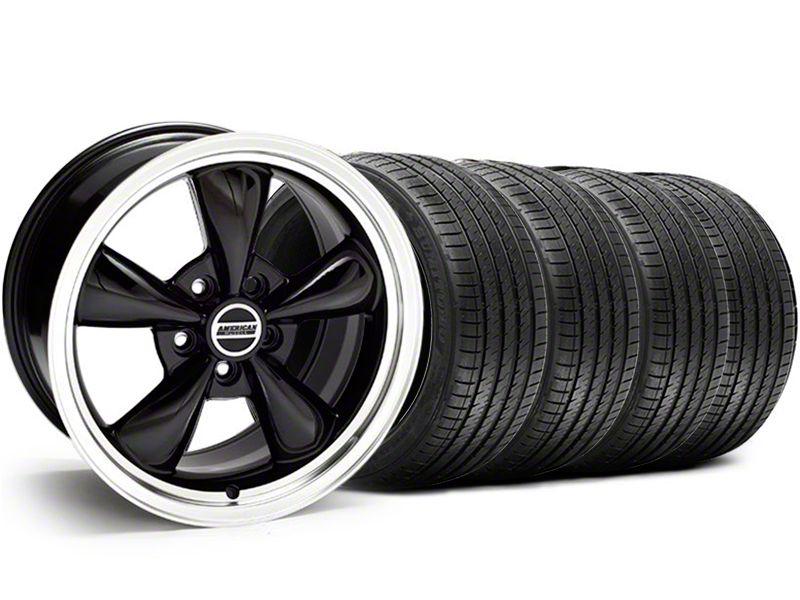 Bullitt Black Wheel & Sumitomo Tire Kit - 18x9 (05-10 GT; 05-14 V6)