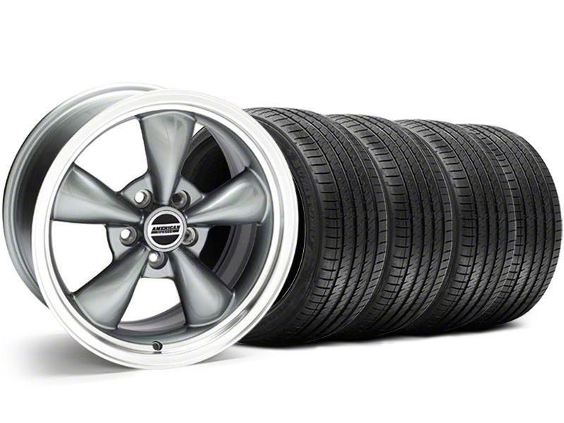 Bullitt Anthracite Wheel & Sumitomo Tire Kit - 18x9 (05-10 GT; 05-14 V6)