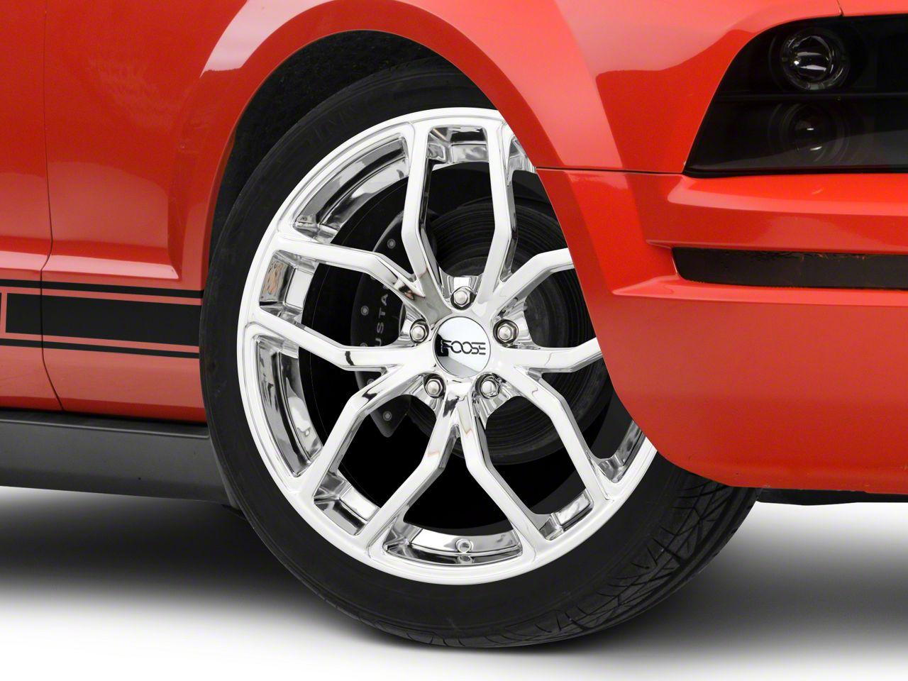 Foose Outcast Chrome Wheel - 20x8.5 (05-14 All)