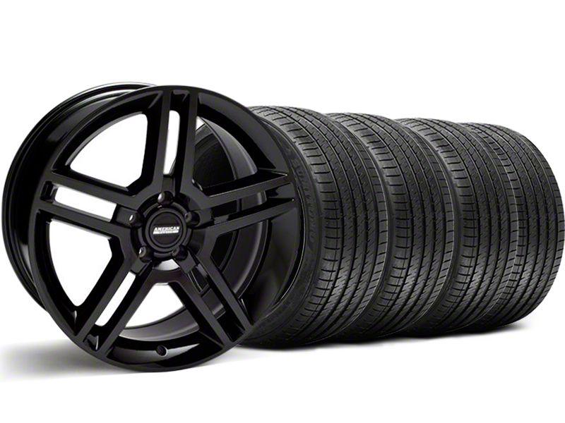 2010 GT500 Style Black Wheel & Sumitomo Tire Kit - 18x9 (99-04 All)