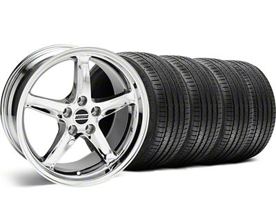 1995 Cobra R Style Chrome Wheel & Sumitomo Tire Kit - 18x9 (99-04 All)