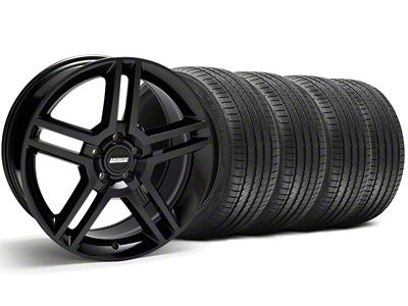2010 GT500 Style Black Wheel & Sumitomo Tire Kit - 18x9 (94-98 All)