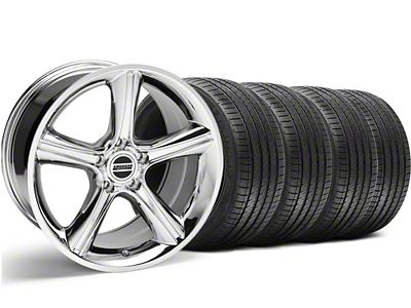 2010 GT Premium Style Chrome Wheel & Sumitomo Tire Kit - 18x9 (94-98 All)