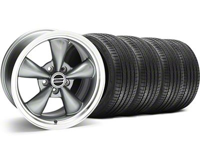 Bullitt Anthracite Wheel & Sumitomo Tire Kit - 18x9 (94-98 All)