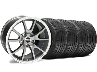 Staggered FR500 Style Anthracite Wheel & Sumitomo Tire Kit - 18x9/10 (94-98 All)