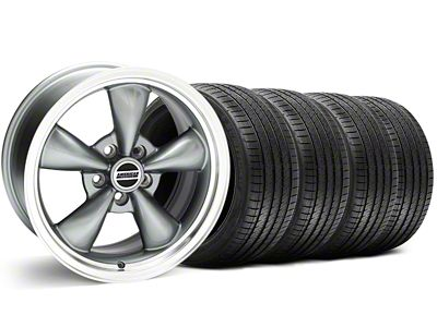 Bullitt Anthracite Wheel & Sumitomo Tire Kit - 18x8 (05-10 GT; 05-14 V6)