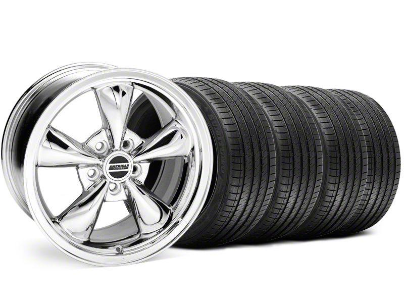 Bullitt Chrome Wheel & Sumitomo Tire Kit - 18x8 (94-98 All)