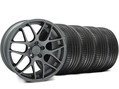 AMR Charcoal Wheel & Sumitomo Tire Kit - 18x9 (94-98 All)