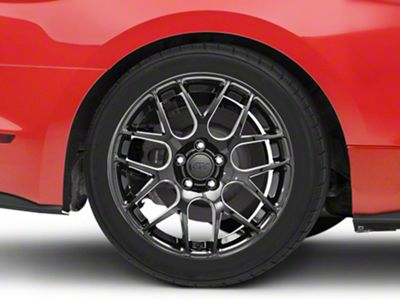 AMR Black Wheel - 18x10 - Rear Only (15-19 EcoBoost, V6)