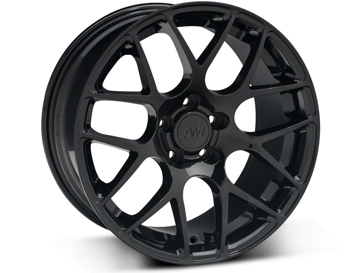 AMR Black Wheel - 18x8 (94-14 All)