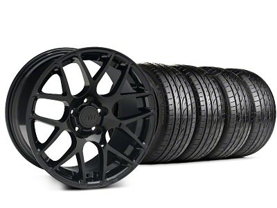 AMR Black Wheel & Sumitomo Tire Kit - 19x8.5 (99-04 All)
