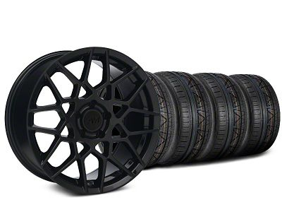 2013 GT500 Style Gloss Black Wheel & NITTO INVO Tire Kit - 20x8.5 (05-14 All)