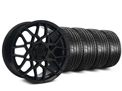 2013 GT500 Style Gloss Black Wheel & Mickey Thompson Tire Kit - 20x8.5 (05-14 All)