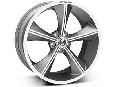 Shelby CS70 Gunmetal Wheel - 20x9 (05-19 All)