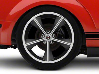 Shelby CS70 Gunmetal Wheel - 20x10 - Rear Only (05-14 All)