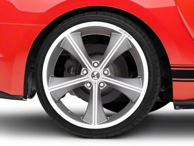 Shelby CS70 Gunmetal Wheel - 20x10 - Rear Only (15-19 GT, EcoBoost, V6)