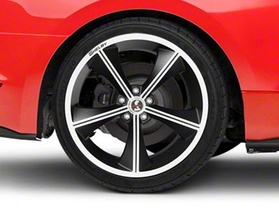 Shelby CS70 Matte Black Wheel - 20x10 - Rear Only (15-19 GT, EcoBoost, V6)