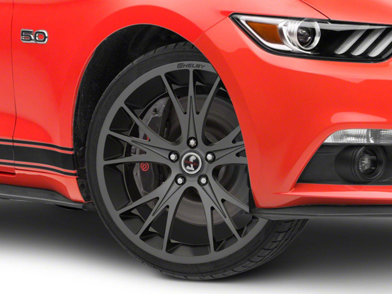 Shelby CS1 Gunmetal Wheel - 20x9 (15-19 GT, EcoBoost, V6)