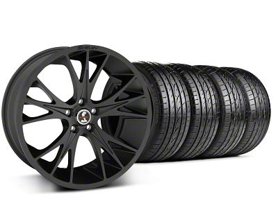 Shelby CS1 Matte Black Wheel & Sumitomo Tire Kit - 20x9 (05-14 All)
