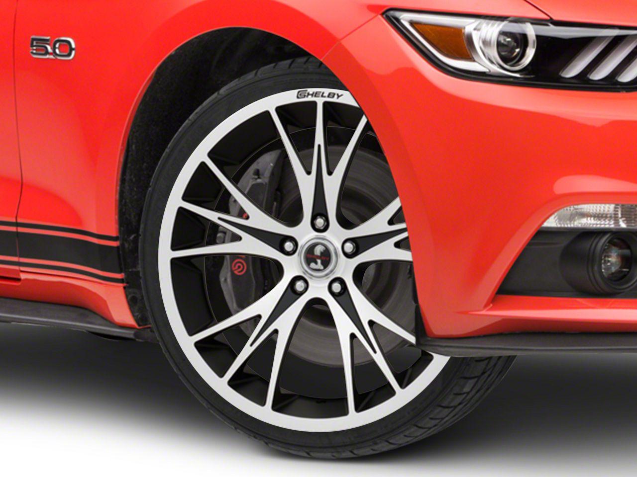 Shelby CS1 Black Machined Wheel - 20x9 (15-17 All)