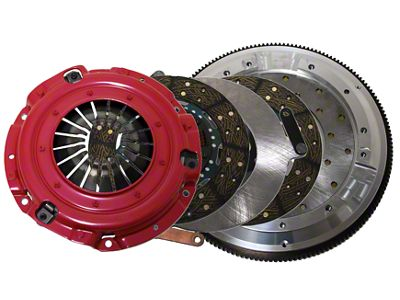 RAM Street Dual Disc Force 9.5 Clutch w/ 8 Bolt Aluminum Flywheel - 23 Spline (11-17 GT; 12-13 BOSS 302)