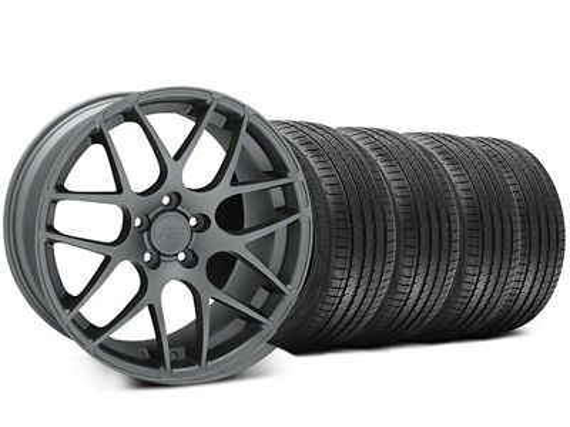 AMR Charcoal Wheel & Sumitomo Tire Kit - 20x8.5 (05-14 All)