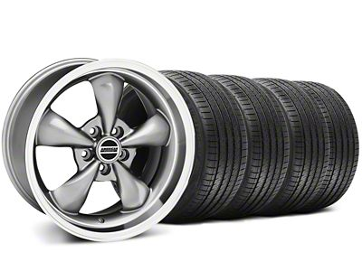 Deep Dish Bullitt Anthracite Wheel & Sumitomo Tire Kit - 18x9 (94-98 All)