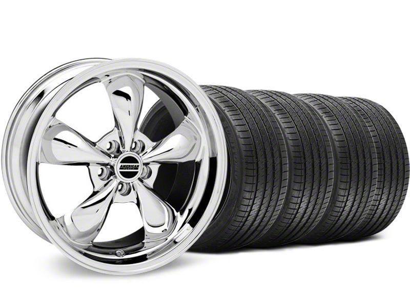 Bullitt Chrome Wheel & Sumitomo Tire Kit - 18x9 (94-98 All)