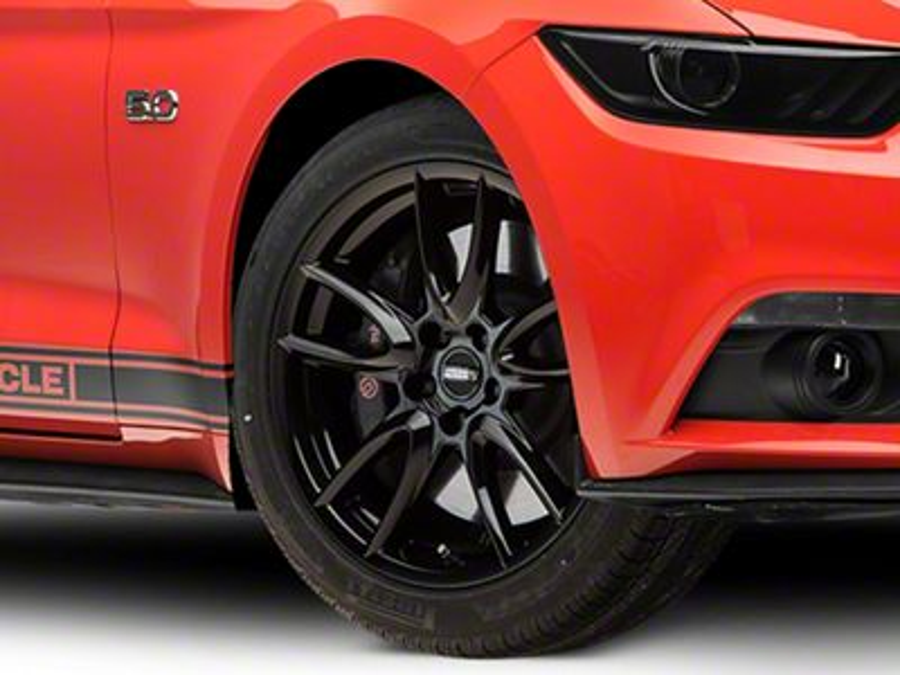 Track Pack Style Gloss Black Wheel - 19x8.5 (15-19 GT, EcoBoost, V6)