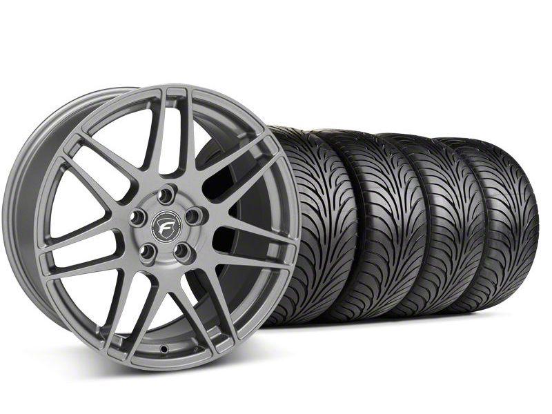Forgestar F14 Monoblock Gunmetal Wheel & Sumitomo Tire Kit - 18x9 (94-98 All)