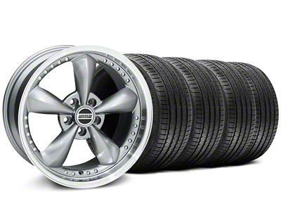 Deep Dish Bullitt Anthracite Wheel & Sumitomo Tire Kit - 18x9 (99-04 All)
