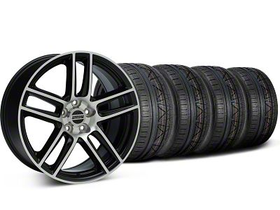 Laguna Seca Style Black Machined Wheel & NITTO INVO Tire Kit - 19x9 (94-04 All)