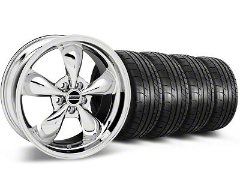Bullitt Chrome Wheel & Mickey Thompson Tire Kit - 19x8.5 (05-14 Standard GT, V6)