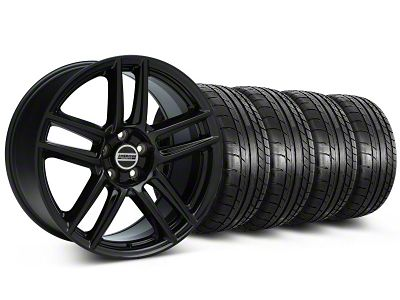 Laguna Seca Style Black Wheel & Mickey Thompson Tire Kit - 19x9 (05-14 All)