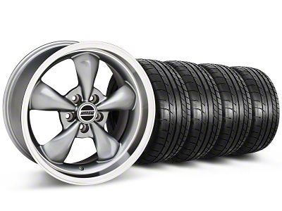 Deep Dish Bullitt Anthracite Wheel & Mickey Thompson Tire Kit - 20x8.5 (05-10 GT; 05-14 V6)
