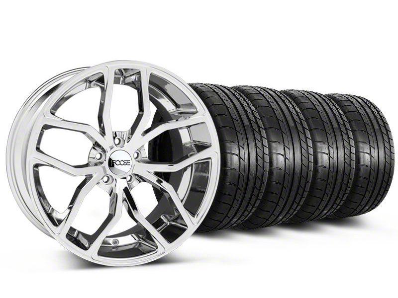 Foose Outcast Chrome Wheel & Mickey Thompson Tire Kit - 20x8.5 (05-14 All)