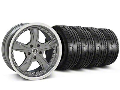 Shelby Razor Gunmetal Wheel & Mickey Thompson Tire Kit - 20x9 (05-14 All, Excluding 13-14 GT500)