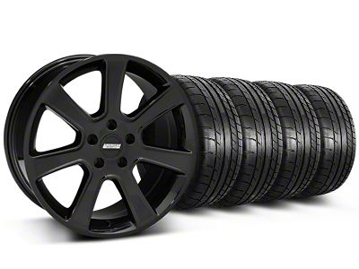 S197 Saleen Style Black Wheel & Mickey Thompson Tire Kit - 20x9 (05-14 All)