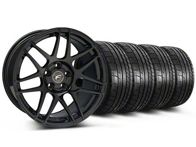 Forgestar F14 Monoblock Piano Black F14 Monoblock Wheel & Mickey Thompson Tire Kit - 20x9 (05-14 All)