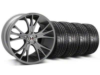 Shelby CS1 Gunmetal Wheel & Mickey Thompson Tire Kit - 20x9 (05-14 All)