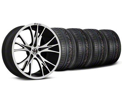 Shelby CS1 Black Machined Wheel & Mickey Thompson Tire Kit - 20x9 (05-14)
