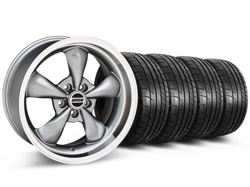Deep Dish Bullitt Anthracite Wheel & NITTO INVO Tire Kit - 20x8.5 (05-10 GT; 05-14 V6)