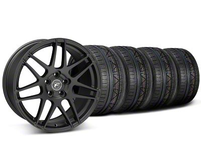 Forgestar F14 Monoblock Matte Black Wheel & NITTO INVO Tire Kit - 20x9 (05-14 All)