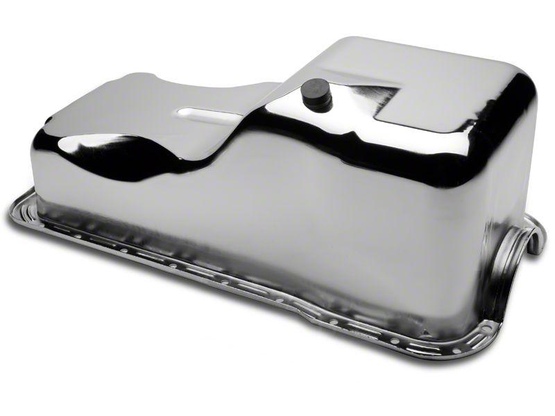 Mr. Gasket Chrome Oil Pan (79-87 5.0L)