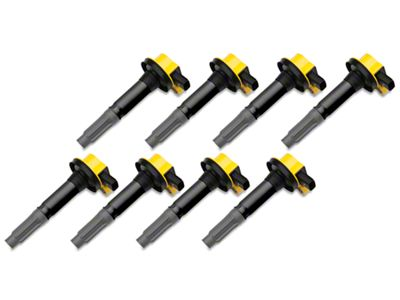 Accel Super Coil Packs - Yellow (11-Early 16 GT, BOSS 302)